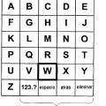 Ilustración 1 de Sistemas y métodos para navegación y entrada alfanumérica.