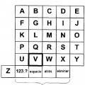 Ilustración 2 de Sistemas y métodos para navegación y entrada alfanumérica.