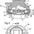 Ilustración 3 de Cojinete amortiguado hidráulicamente para montar un motor.