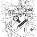 Ilustración 4 de Dispositivo para expulsar soportes de impresión, y máquina de encolado de cajas plegables con tal dispositivo.