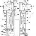 Ilustración 1 de Motor de activación, particularmente para bandejas de soporte o para husillos de enrollar asociados con una máquina etiquetadora.