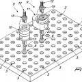 Ilustración 1 de Estructura modular para sostener piezas en bruto.