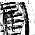 Ilustración 1 de Planta de energía eólica con accionamiento principal hidrostático con motor de pistón axial hidráulico regulable y procedimiento para el control.
