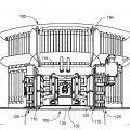 Ilustración 1 de Puerta de escoria giratoria.