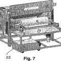Ilustración 4 de Planta para la limpieza de rodillos de entintar y de impresión.