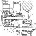Ilustración 3 de Motor y vehículo del tipo de montar a horcajadas y método de montar la cadena.