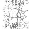 Ilustración 6 de Motor y vehículo del tipo de montar a horcajadas y método de montar la cadena.