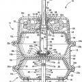 Ilustración 1 de Actuador de freno de muelle con un cojinete con tornillo de bloqueo que une una placa de presión y el tubo del actuador.