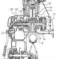 Ilustración 2 de Motor de combustión interna y motocicleta equipada con el motor.