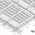 Ilustración 1 de Lámina flexible de ladrillos para la construcción de elementos arquitectónicos, y procedimiento para fabricacación de dicha lámina.