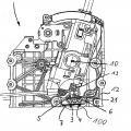 Ilustración 1 de Dispositivo para la detección de la posición de una palanca de cambio y/o palanca selectora para un engranaje y dispositivo de cambio para la caja de cambios de un automóvil.