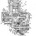 Ilustración 3 de Vehículo de tipo para montar a horcajadas con transmisión variable de manera continua de tipo correa que tiene una correa de tipo bloque de resina.