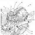 Ilustración 3 de Motocicleta que tiene un sistema de suministro de combustible.