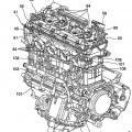 Ilustración 2 de Estructura de lubricación para motor de combustión interna.
