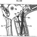 Ilustración 4 de Mecanismo de rueda dentada de aplicador de grapas quirúrgicas.