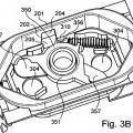 Ilustración 4 de Toma de corriente con fondo de cajeado móvil y obturador escamoteable.