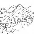 Ilustración 2 de Zapato polivalente para la marcha y la rodadura, que comprende ruedecillas integradas en la suela,desplegables lateralmente.