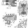 Ilustración 3 de Cepillo de ranurar de minería para sistemas de cepillado y sistema de cepillado para formaciones inclinadas.