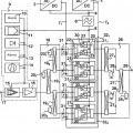 Ilustración 1 de Disposición de circuito para la alimentación de corriente redundante de un amplificador de potencia.