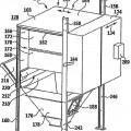 Ilustración 3 de Dispositivo de filtro y procedimiento para separar exceso de rociado de pintura de laca húmeda.