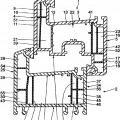 Ilustración 3 de Grupo constructivo de marco para puerta o ventana fabricado de plástico extrudido y de plástico co extrudido y reforzado con fibras.