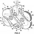 Ilustración 2 de Dispositivo de bloqueo entre dos tubos montados de manera deslizante.