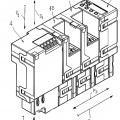 Ilustración 1 de Ensamblaje de dispositivo accesorio para interruptores de baja y media tensión.
