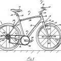 Ilustración 1 de Cuadro de bicicleta con junta de pivote de tubo de sillín pasivo.