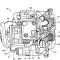 Ilustración 4 de Estructura de tubo de escape de un motor de combustión interna.