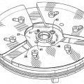 Ilustración 1 de Activación de máquina y cierre de seguridad extraible con anti-rotación y soporte de la máquina liberado.