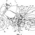 Ilustración 1 de Vehículo de dos ruedas.