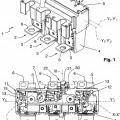 Ilustración 1 de Disparador magnetotérmico de disparo de un disyuntor polifásico.
