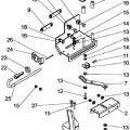 Ilustración 3 de Freno y acelerador manual de levas.