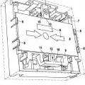 Ilustración 2 de Dispositivo de aviso con mecanismo de prueba y llave especial para accionar el mecanismo de prueba.