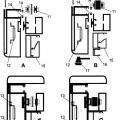 Ilustración 2 de Perfiles de guías, registro y soporte polea para pantallas de control de viento superior e inferior.