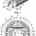 Ilustración 1 de Carro de encofrado auto-portante para el revestimiento de tuneles.