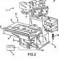 Ilustración 2 de Controlador activado con el pie para sistema médico.