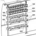 Ilustración 1 de Mueble de almacenamiento para vehículos utilitarios.