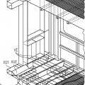 Ilustración 5 de Vehículo sobre raíles con zona de deformación.