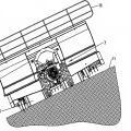 Ilustración 4 de Procedimiento para recoger un cultivo agrícola segado sobre una superficie segada del suelo.