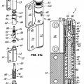 Ilustración 1 de Dispositivo de bisagra para puertas, postigos y similares.