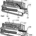 Ilustración 3 de Grupo de suspensión y anti-desacoplamiento para armarios de pared.