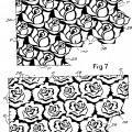 Ilustración 3 de Material celulósico de múltiples capas en relieve.
