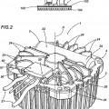 Ilustración 1 de Máquina giratoria y procedimiento de empaquetado relacionado.