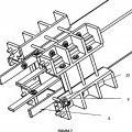 Ilustración 4 de Sistema desmontable para unión continua de perfiles de tubo cuadrado.