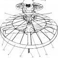 Ilustración 1 de Motocicleta voladora.