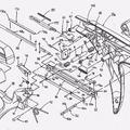 Ilustración 1 de Dispositivo de grapado quirúrgico.
