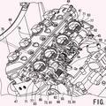 Ilustración 2 de Estructura de admisión de motocicleta.